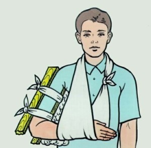 Повреждение верхней конечности – неотложная помощь