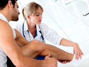 Медицинская помощь при вывихе голеностопного сустава