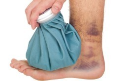Неотложная помощь при повреждении стопы